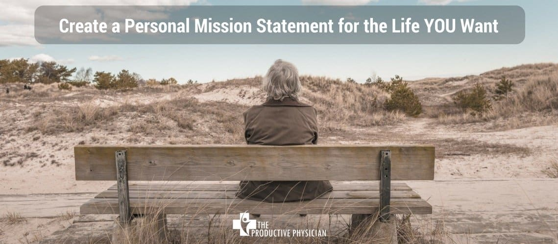 create a personal mission statement