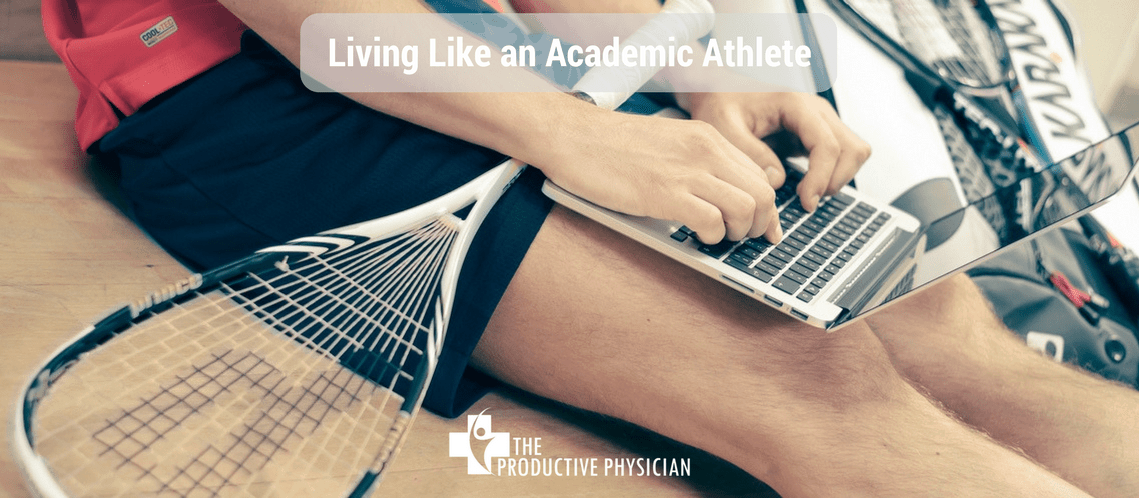 Living Like an Academic Athlete with Drs Eric Benchimol & Richard Keijzer